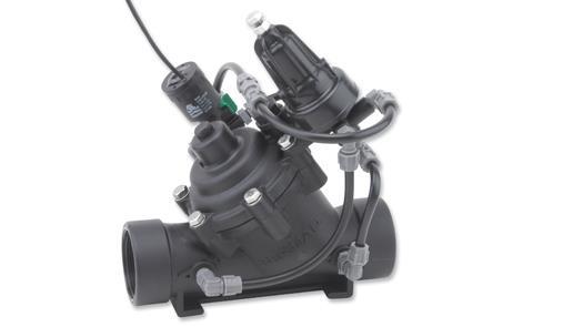 Pressure Reducing Valve with 2-way solenoid control & flow stem | 120-55-2W-M