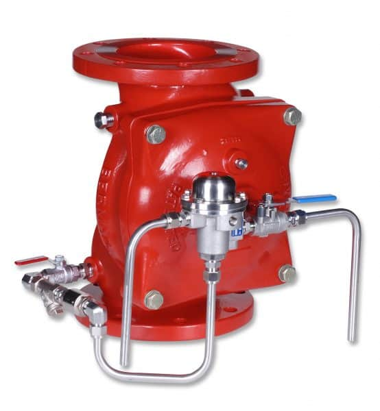 Bermad Fire Protection |Pneumatically Operated, Remote Controlled Monitor Valve