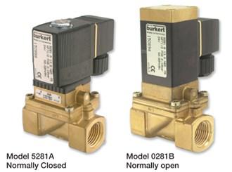 2-Way Solenoid Valve Burkert Model 281