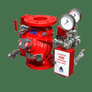 Electro-Pneumatically Controlled Deluge Valve | FP 400Y-6U