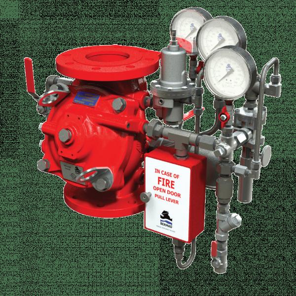 Hydraulically Operated Anti-Columning Pressure Control Deluge | FP 400Y 1MC