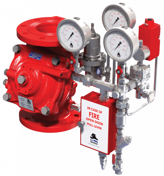 Electric Pressure - Control Deluge Valve   FP 400Y-2MC