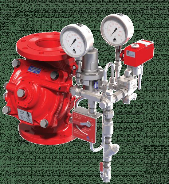 Electro-Pneumatic, Pressure-Control, On-Off Deluge Valve | FP 400Y-6DC