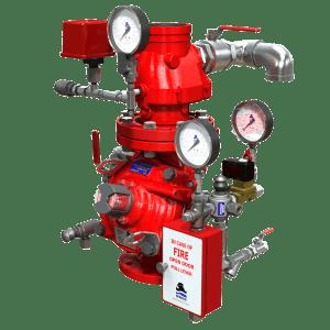 Double Interlock Pre-action Deluge Valves | FP 400Y - 7BM