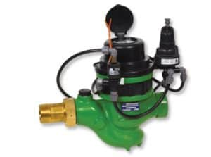 Super Pressure Reducing Landscape Hydrometer with Magnetic Drive, 2-Way Solenoid Control, Pressure Gauge, Pulse 0.1 M3 & Records | GR-92R-M0-5S-2W-K6-R02