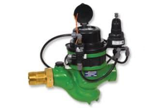 Super Pressure Reducing Landscape Hydrometer with Magnetic Drive, 3-Way Electric Control, Pressure Guage, Pulse 0.1 M3 & Records | GR-92R-M0-5S-3W-K6-R02