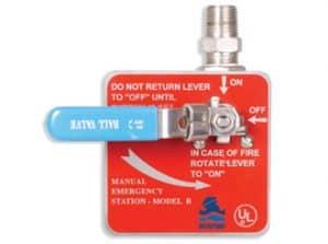 Manual Emergency Release Model B