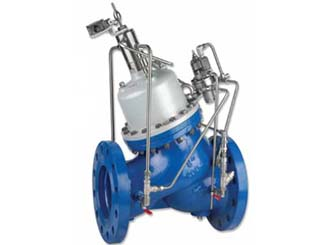 High Pressure, Booster Pump Control and Pressure Sustaining Valve | Model 843
