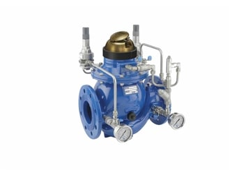 Pressure Reducing and Sustaining Hydrometer   Model 923-MV