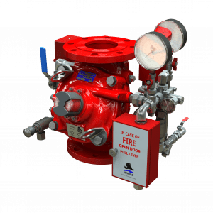 Electro-Pneumatically Controlled Deluge Valve | FP 400Y-6UM